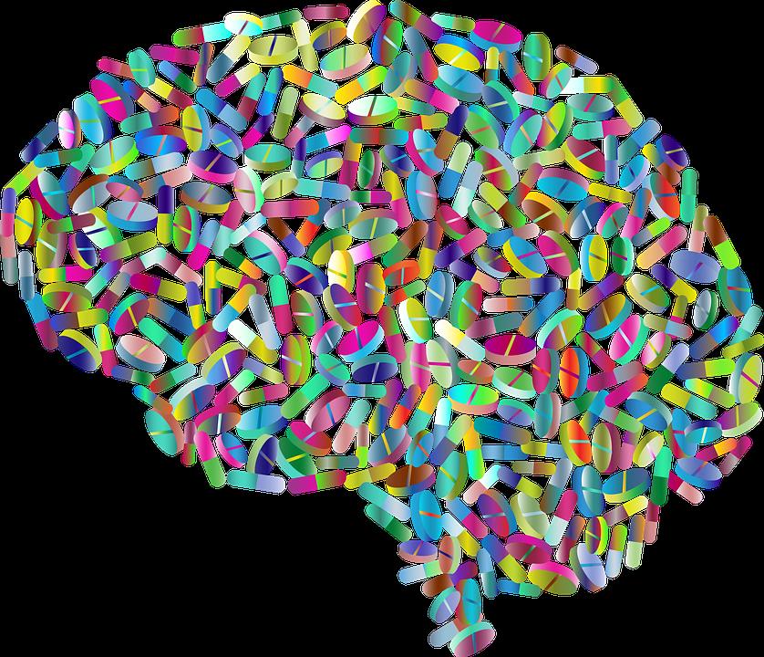 Мозг Рецепт Лекарство - Бесплатная векторная графика на Pixabay