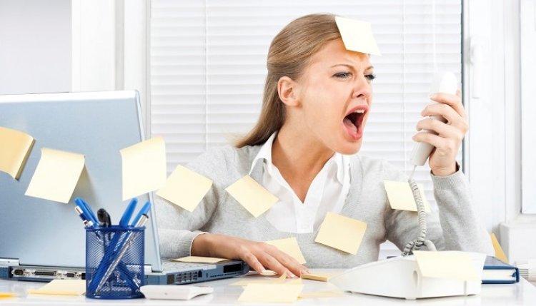 Стресс от работы, стресс на работе